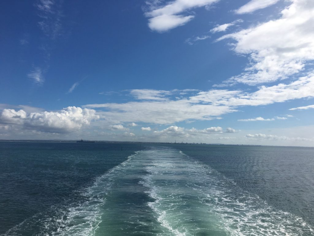 heading for the isle of wight