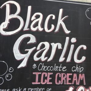 Garlic Farm ICe Cream