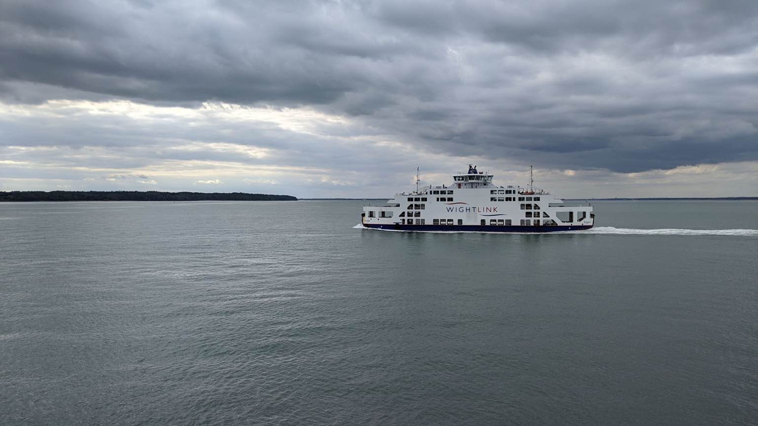 Wightlink Ferry - staycation 2020